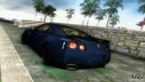 nissan gtr gta v nissan gt r specv black revel for gta vice city