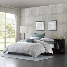 amazon com metropolitan home marble mini comforter set queen