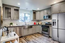 aluminum glass kitchen cabinet doors choosing the color for your kitchen cabinets
