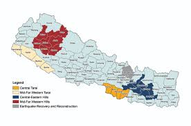 Kathmandu Nepal Map by Helvetas Our Coverage