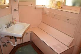 Pink Bathroom Storage Bathroom Accessories Vintage Pink Bathroom Paneling Mirror
