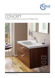 bathroom suites ideal standard ireland concept brochure 2011