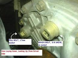 honda civic how to change manual transmission fluid honda tech
