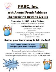 2017 frank robinson thanksgiving bowling classic a success