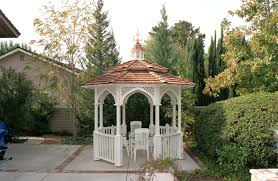 octagon gazebo with cupola two tiered type e shingle roof
