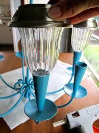 How To Make A Solar Light - best 25 solar light chandelier ideas on pinterest outdoor