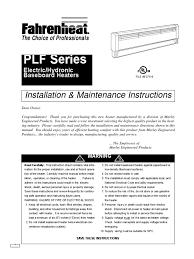marley series c baseboard heater wiring diagram efcaviation com