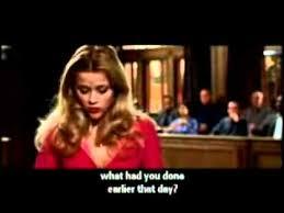 Blonde Moment Meme - legally blonde court scene youtube