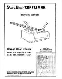 Overhead Door Legacy Owners Manual Garage Door Troubleshooting Stumbleupon Lrh Home Design