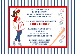 baseball baby shower to be baby shower invitations