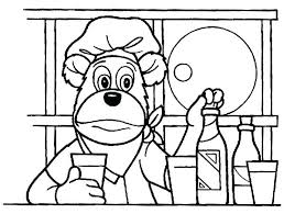 coloring pages of kitchen things kitchen coloring pages the in the kitchen coloring pages kitchen