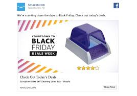 strategy for amazon black friday 5 effective facebook ad examples your brand can learn from