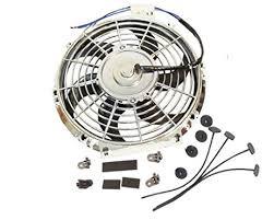 10 inch radiator fan amazon com universal high performance 12v slim electric