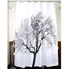 Waterproof Fabric Shower Curtains Color Optional Shower Curtain Beautiful Funny Starfish Shells