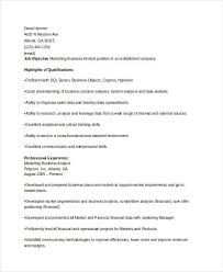 Inventory Analyst Resume Sample by Marketing Resume Samples For Successful Job Hunters