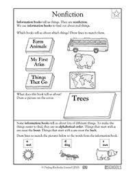 kindergarten reading writing worksheets nonfiction greatschools