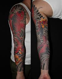 koi fish tattoo on arm 25 famous artist chris nunez tattoos collection