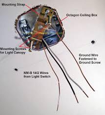 wire a closet light