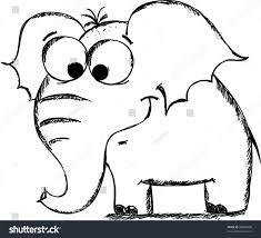 cartoon elephant stock vector 83830498 shutterstock
