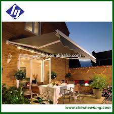 Motorized Pergola Cover by Led Light Motorized Retractable Awnings Led Light Motorized