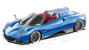 blue pagani already sold out pagani huayra roadster unveiled