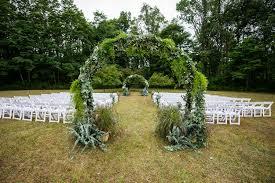 backyard tented wedding freeville ny lili nick stacy k