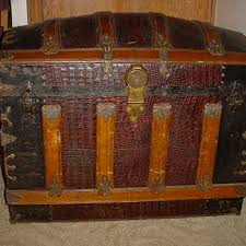 antique steamer trunks and chests collectors weekly