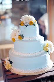 light blue and yellow vintage wedding cake c a k e l u s t