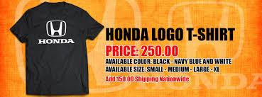 honda philippines logo honda logo t shirt