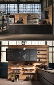 adorable mysterious magical wood and black kitchen design amazing