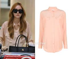 equipment signature blouse soshified styling review equipment signature blouse
