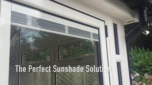 integrated blinds in bi folding doors youtube
