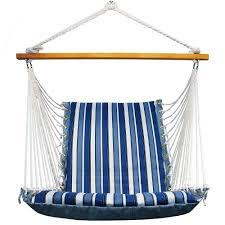Tree Hanging Hammock Chair Reversible Cushioned Hanging Chair Indoor U0026 Outdoor