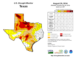 United States Drought Map by Drought In Texas And California Hydrowonk Blog
