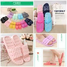 qoo10 korean design bathroom slippers kitchen slippers home