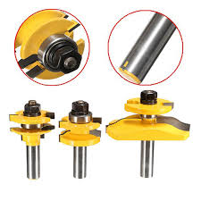 Router Bits For Cabinet Doors 3pcs 1 2 Shank Door Panel Woodworking Cutter Tool Cabinet Router