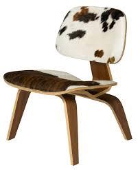 talie jane interiors cowhide chair