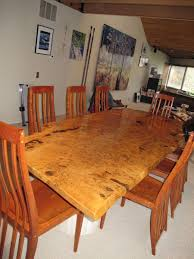Custom Made Dining Room Tables by Handmade English White Oak Burl Dining Table By David Naso Designs