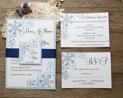 snowflake wedding invitations snowflake wedding etsy