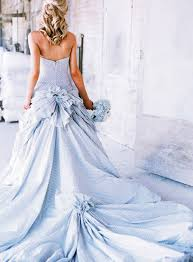 colored wedding dresses blue colored wedding dresses for wedding atmosphere