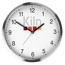 office wall clock custom printed branded merchandise