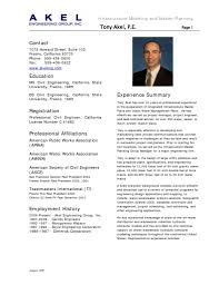 Example Engineering Resume Example Of Resume Customer Service Business Report Examples Free