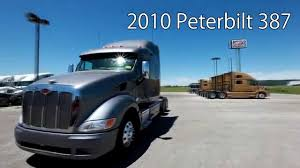 kenworth truck leasing 2010 peterbilt 387 from lone mountain truck leasing youtube