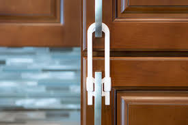 Child Proof Kitchen Cabinets by Cabinet Locks 4 Pack White Jessa Leona Baby