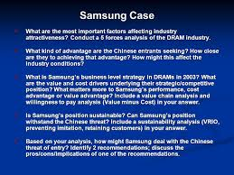 Seeking Dram Samsung What Are The Most Important Factors Affecting