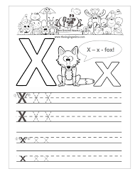 free x worksheet for kindergarten free worksheet my free