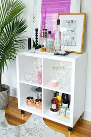 3 ways to style and use ikea u0027s kallax expedit shelf bar