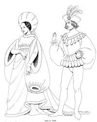 printable coloring pages renaissance renaissance costumes and clothing coloring pages 15 costume