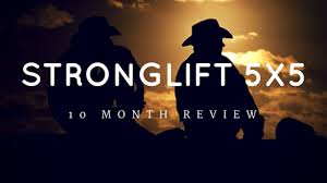 5x5 Bench Press Workout Extensive 10 Month Stronglift 5x5 Review U0026 Results Article Video