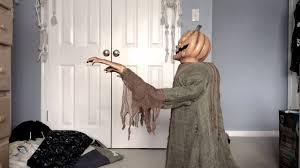 deady teddy spirit halloween lurching pumpkin youtube